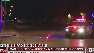 Suspect taken into custody after shooting involving off-duty officer - Video