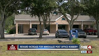Reward increase immokalee post office