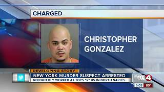 New York murder suspect arrested in Naples - Video