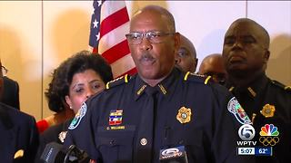 When will police chief Clarence Williams retire? - Video