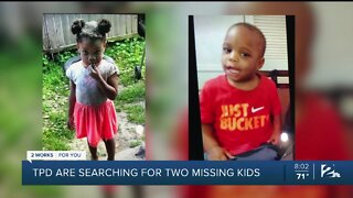 Tulsa Police Searching for Two Missing Toddlers