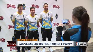 Season opening party for Las Vegas Lights - Video