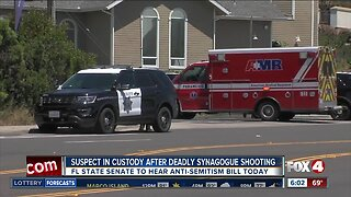 Suspect in Custody after synagogue shooting