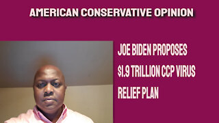 Biden announces $1.9 trillion CCP relief plan