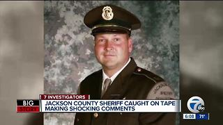 Jackson County Sheriff apologizes for secret recordings, faces lawsuit, possible removal from office - Video