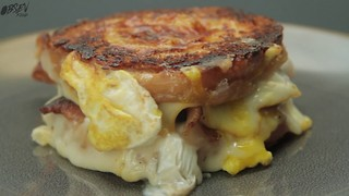 Hole In One Grilled Cheese Donut - Video