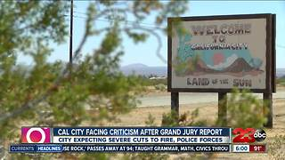 Cal City facing criticism after grand jury report - Video