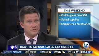 Sales tax holiday - Video