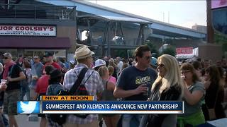 Summerfest and Klements announce new partnership - Video