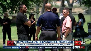 Black Lives Matter Event preaches education