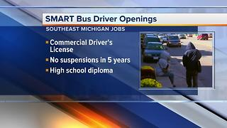 Workers Wanted: SMART bus driver openings - Video