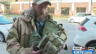 Local vet collects donations for DAPL protesters - Video
