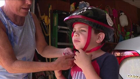 Mentor Police continues longstanding bike helmet safety program, issues hundreds of tickets