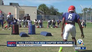 Gurvan Hall excited for new chapter with Gators - Video