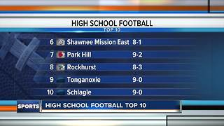 Top 10 high school football teams in Kansas City: November 3 - Video