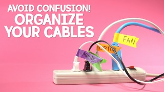 Avoid confusion! Organize your cables - Video