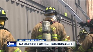 State bill would give volunteer firefighters and EMT's tax break
