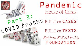 Pandemic House of Cards PART 3: COVID Deaths