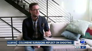 Columbine shooting survivors react to Florida school shooting - Video