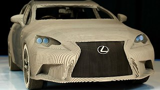 Lexus Origami Car - Video