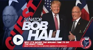 Senator Bob Hall | What Can You Do to Help Reopen America's Schools?