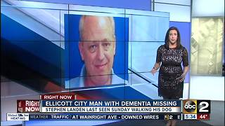 Missing 64-year-old Ellicott City man with dementia - Video