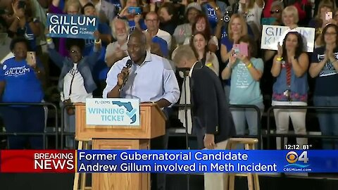 Democrat Andrew Gillum unconscious at hotel with gay escort who ODed on meth