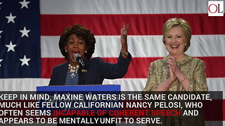 Salon Publishes 5 Reasons Maxine Waters Should Be Our Next...