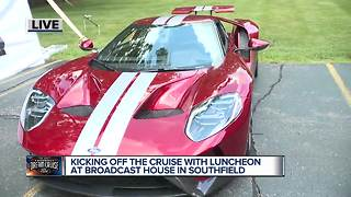 Kicking off the Dream Cruise with luncheon