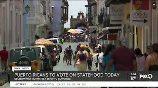 Puerto Ricans to vote on statehood