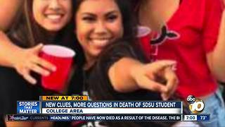 New clues, more questions in SDSU student death - Video