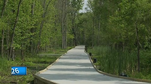 New five mile trail in Menasha