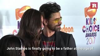 John Stamos expecting first child | Rare People - Video