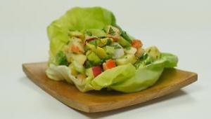 Avocado and Shrimp Salad - Video
