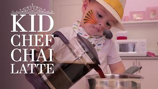 Kid Chef: How (not) to make Chai Latte - Video