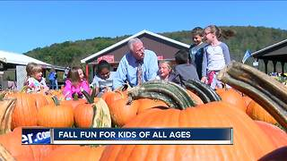 Kids of all ages find fun at Pumpkinville - Video