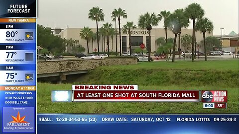 1 confirmed injured at Boca Raton mall after reports of shots fired, no suspect in custody