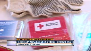 Emergency management monitorig Hurricane Irma