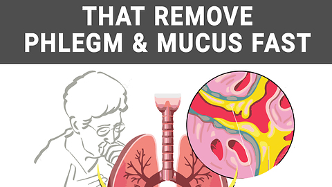 4 remedies that remove phlegm & mucus fast