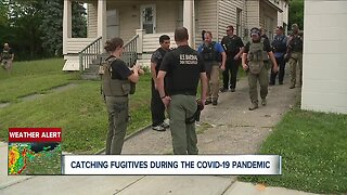 Law enforcement continues to do their job during pandemic