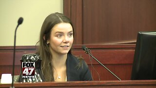 Student takes stand against Strampel