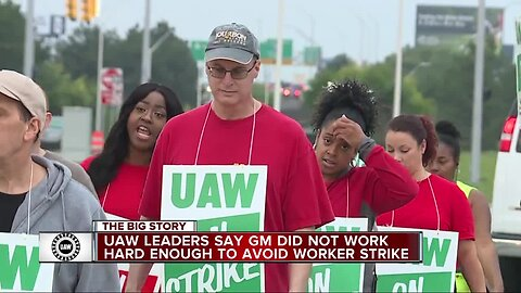 "UAW says strike could have been avoided, claims GM's last-minute contract proposal came a ""little too late"""