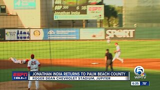 Former American Heritage star Jonathan India returns to Palm Beach County