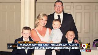 Coach with cancer leads team to winning season - Video