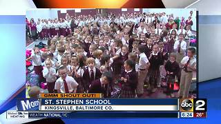 Good morning from St. Stephen School - Video