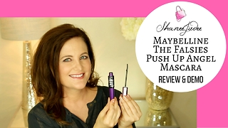 Maybelline The Falsies Push Up Angel mascara | Review & demo | ShaneeJudee - Video