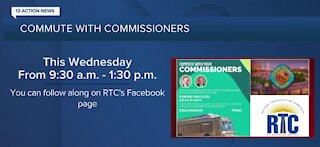 Commute with Clark County commissioners