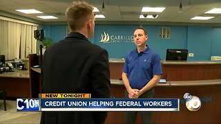 Credit union offering interest free loans to furloughed federal employees