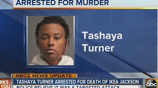 Woman arrested in Mountain Road stabbing - Video