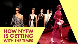 New York Fashion Week is changing it up